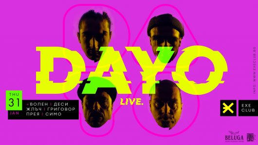 DAYO POSTER LIVE AT EXE CLUB