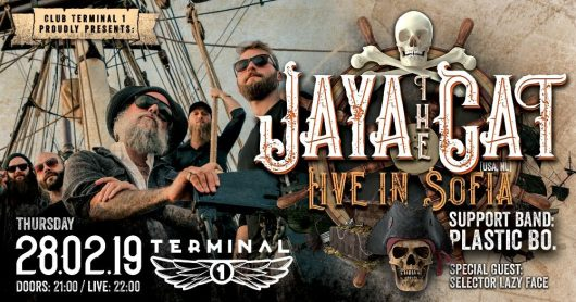 Jaya the Cat live on 28 February Terminal 1