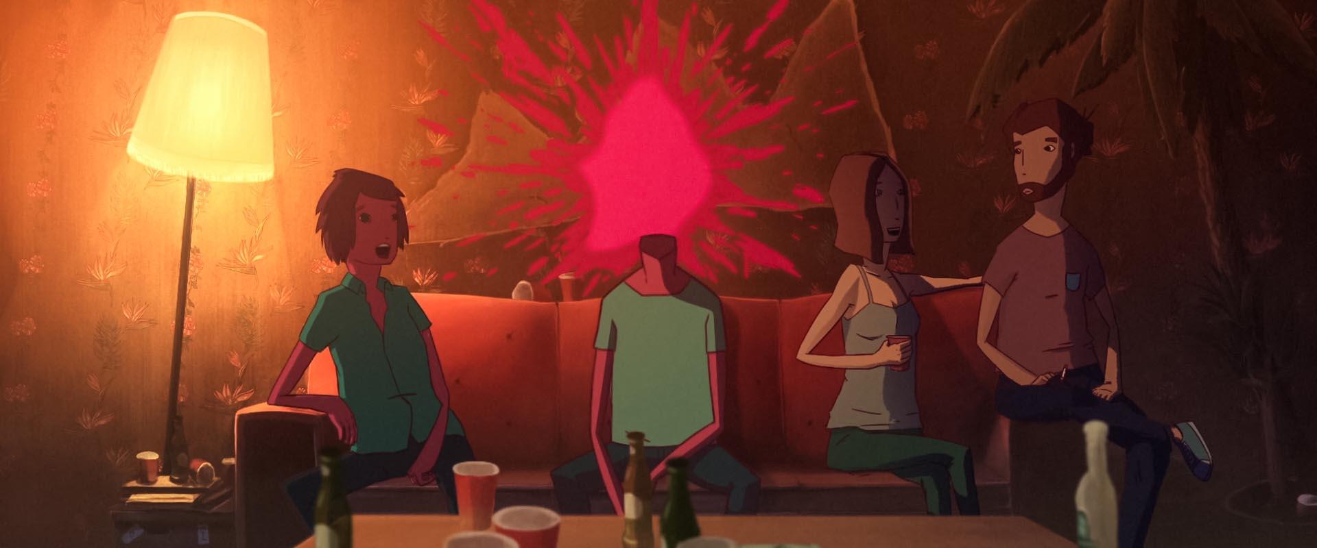 La Nuit Je Danse avec la Mort short animation