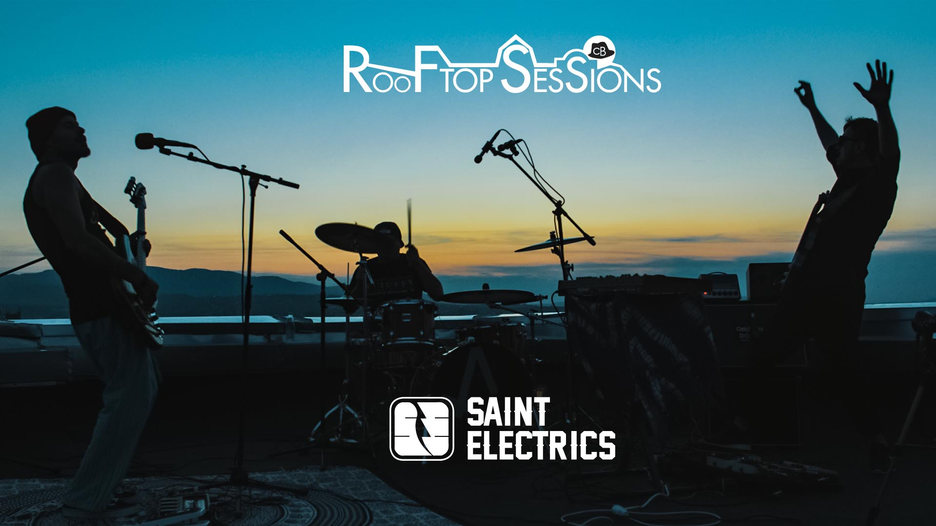 CB Rooftop Sessions - Saint Electrics