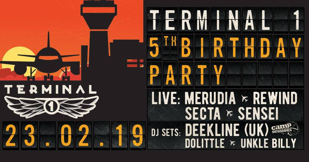 Club Terminal 1 5 years anniversary party