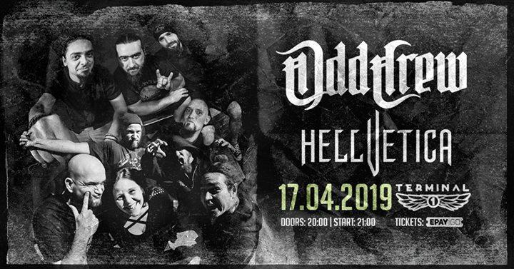 Odd Crew & Hellvetica Live at Club Terminal 1 Съвременни Бохеми