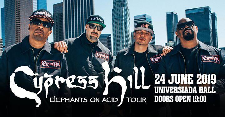 Cypress Hill Live in Sofia Съвременни Бохеми препоръчват това събитие