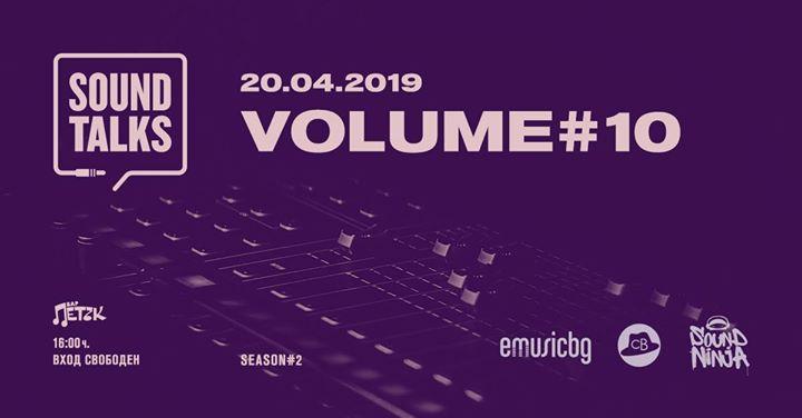 Sound Talks vol.10