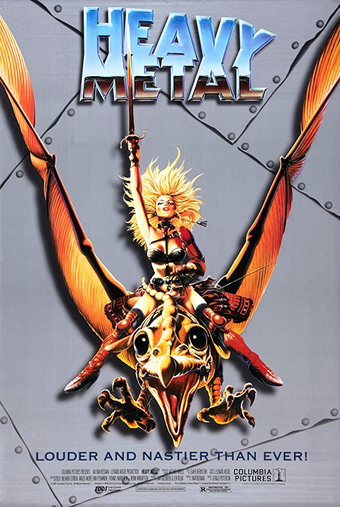 Heavy Metal movie Съвременни бохеми представят