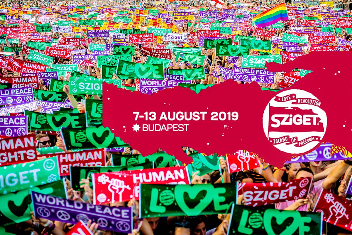 Sziget 2019 CB recomends